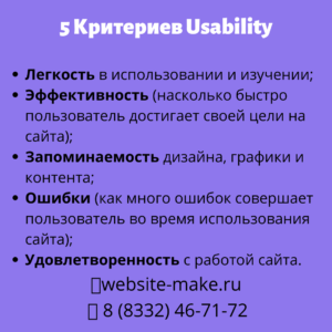 критерии юзабилити